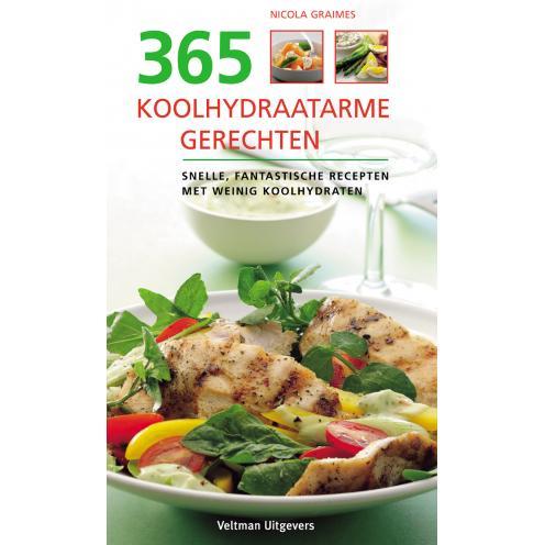 365 koolhydraatarme gerechten kookboek