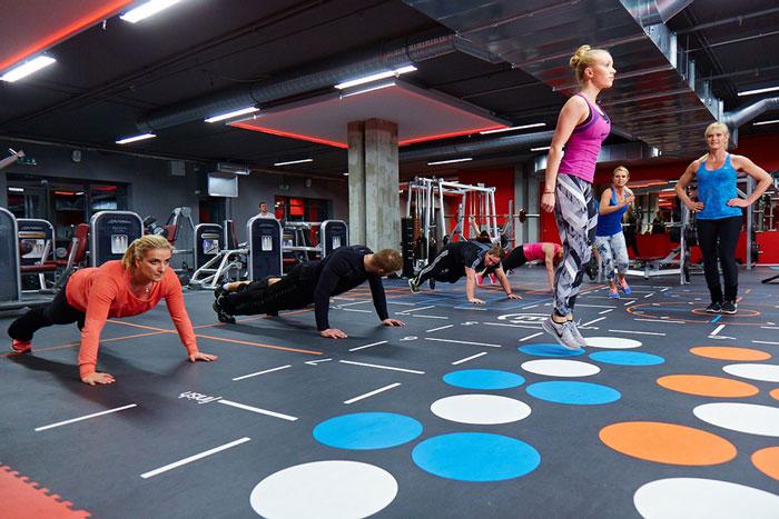 fitnessvloeren